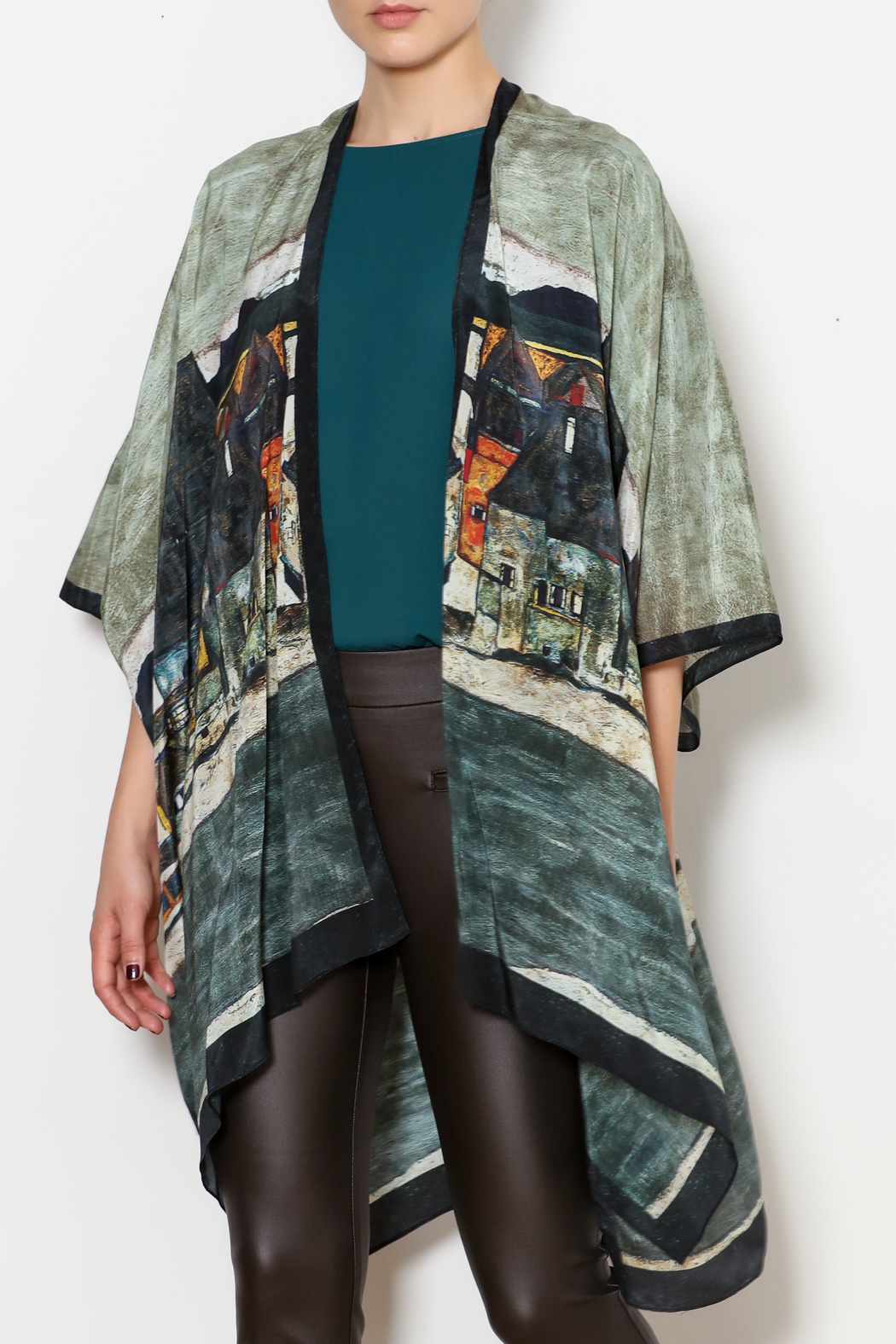 e6953863d Cocoon House Silk Kimono Jacket from Hudson Valley by Maria Luisa ...