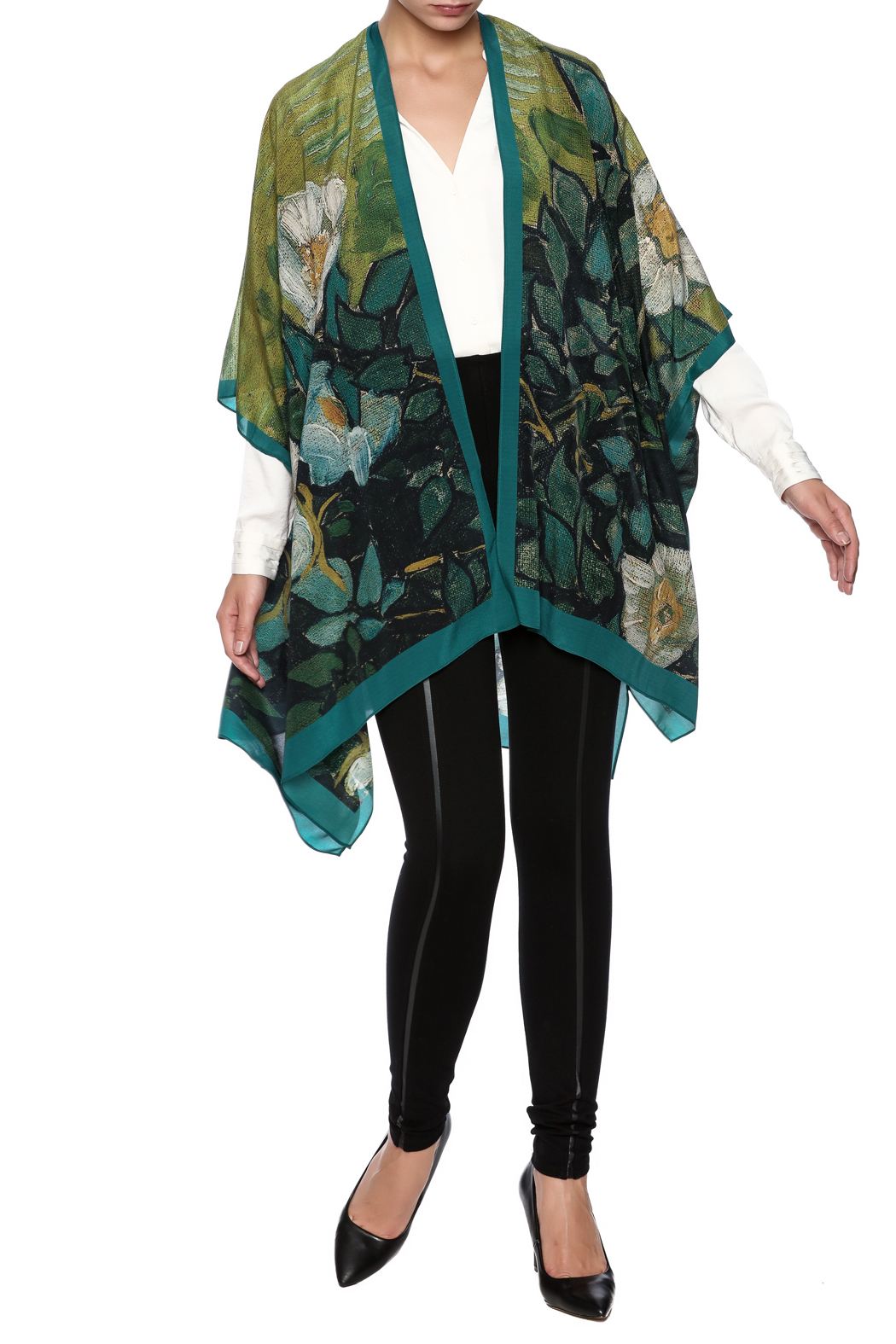84effa0398cc00 Cocoon House Silk Wild Rose Kimono from Omaha by Souq Ltq