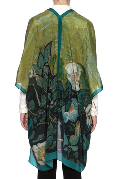 Cocoon House Silk Wild Rose Kimono - Alternate List Image