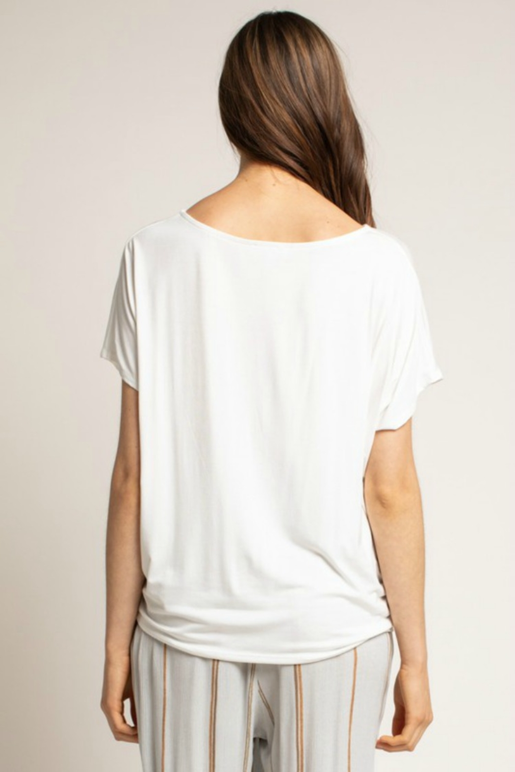 Grade & Gather  Cocoon Tee - Side Cropped Image