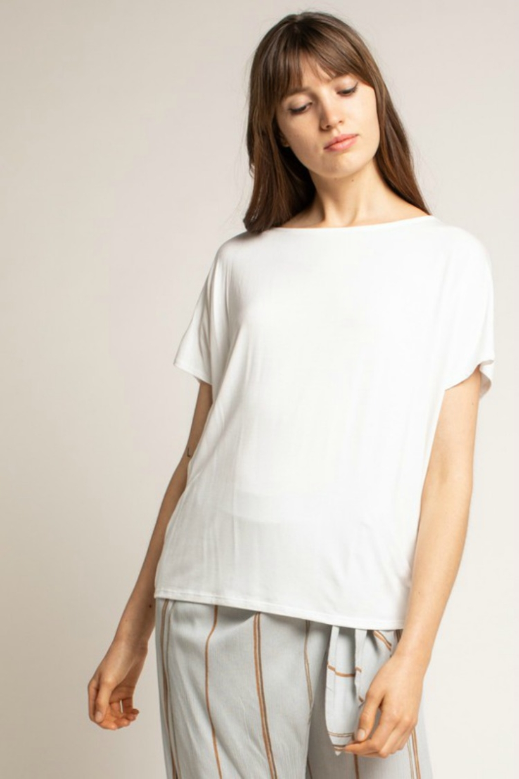 Grade & Gather  Cocoon Tee - Front Full Image
