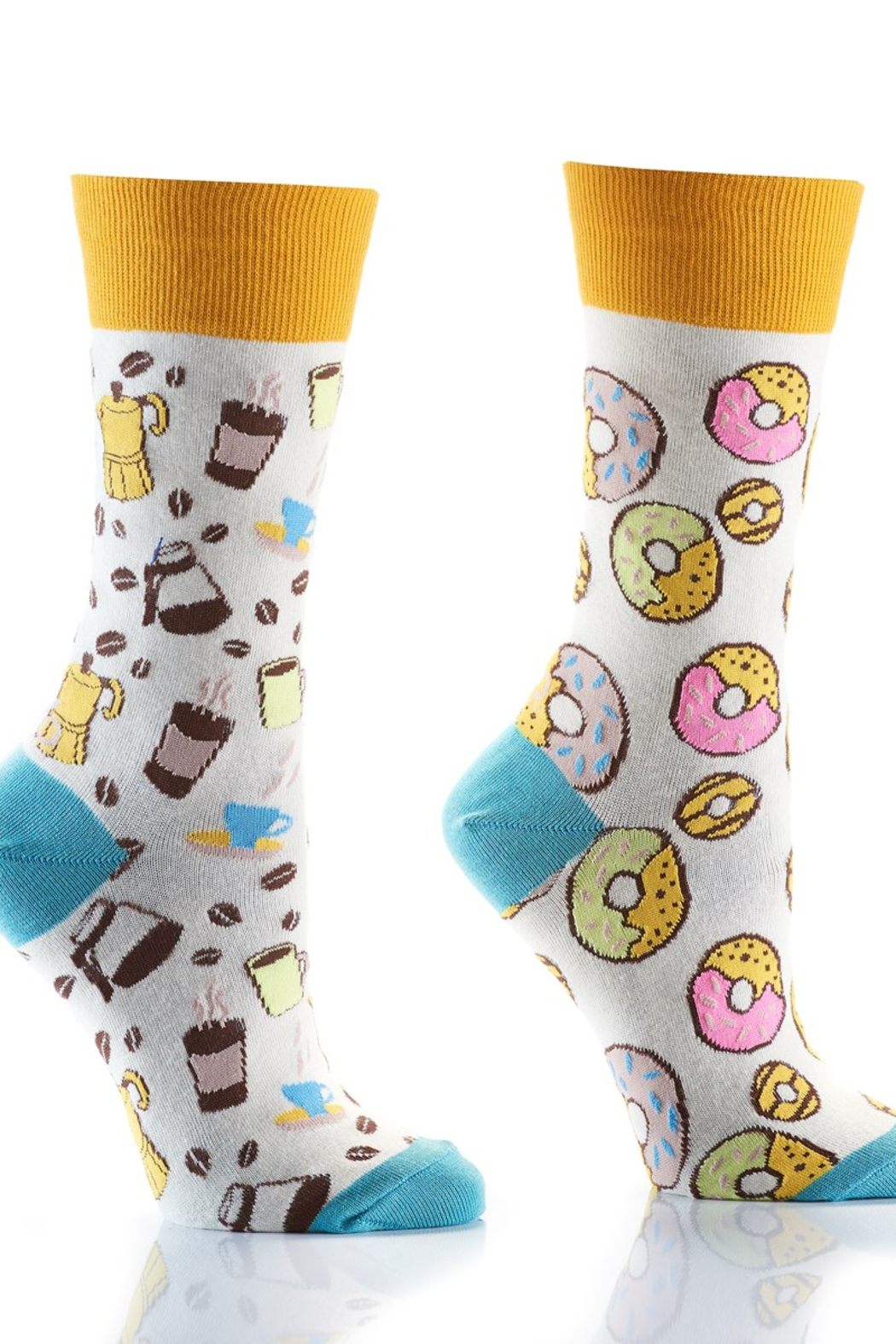 Giftcraft Inc.  Coffee and Donut sox - Main Image
