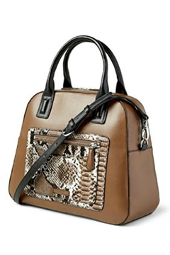 Vera Bradley Coffee Bowler Satchel - Product List Image