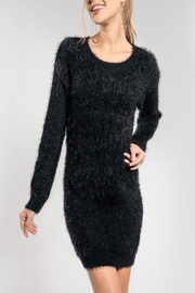 Everly Coffee Date Dress - Product Mini Image