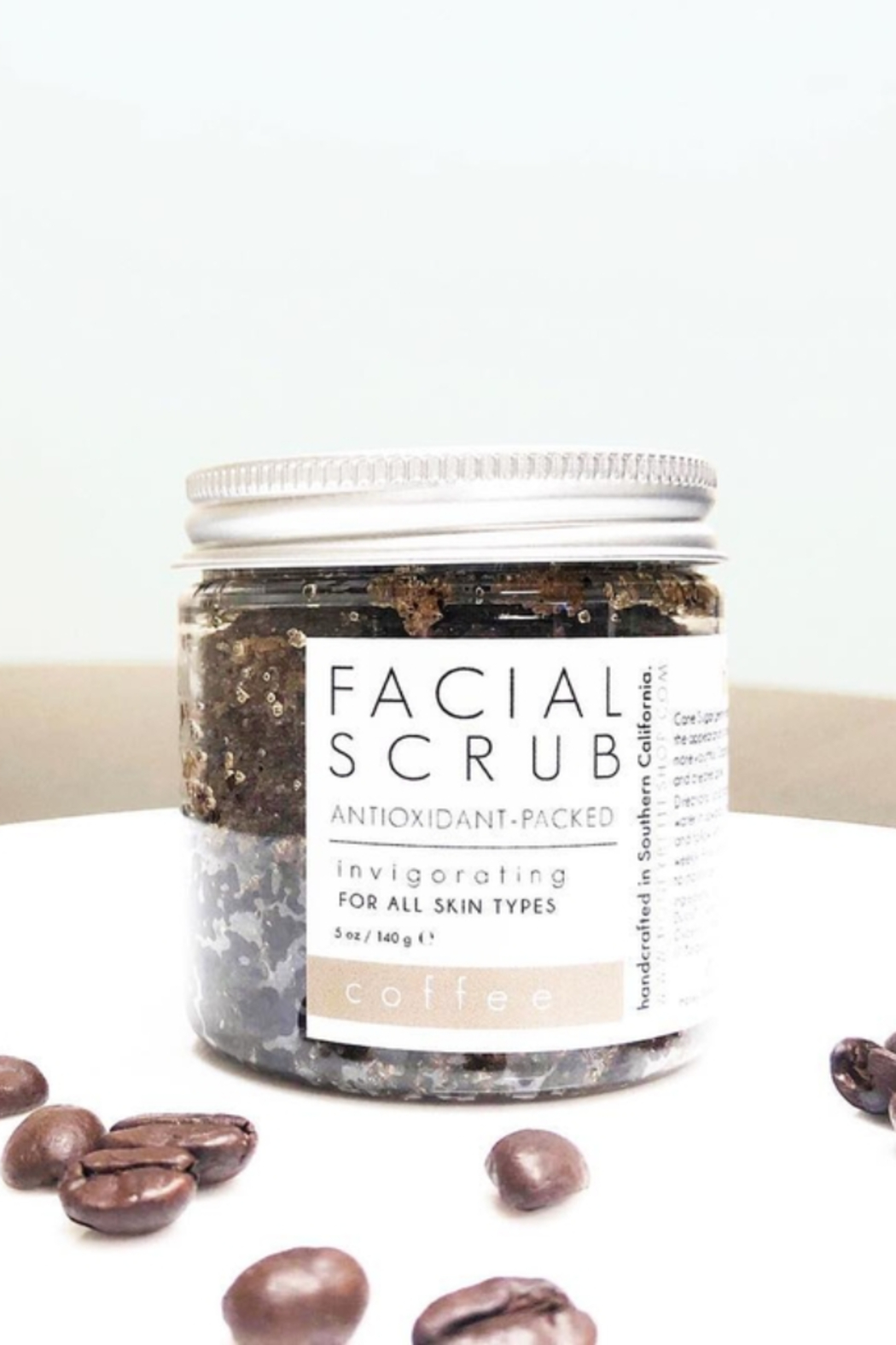 Honey Belle Skin Facial Scrub - Front Full Image