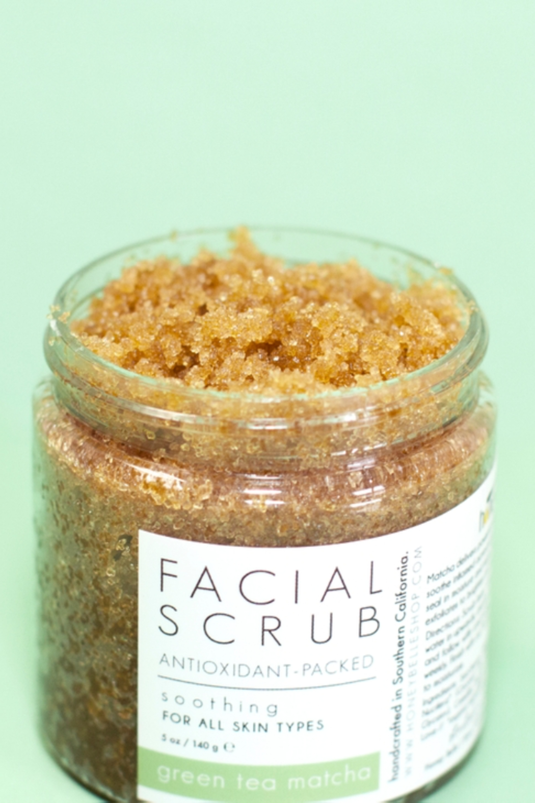 Honey Belle Skin Facial Scrub - Front Cropped Image