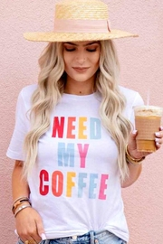 Bella Canvas Coffee Graphic Tee - Product Mini Image