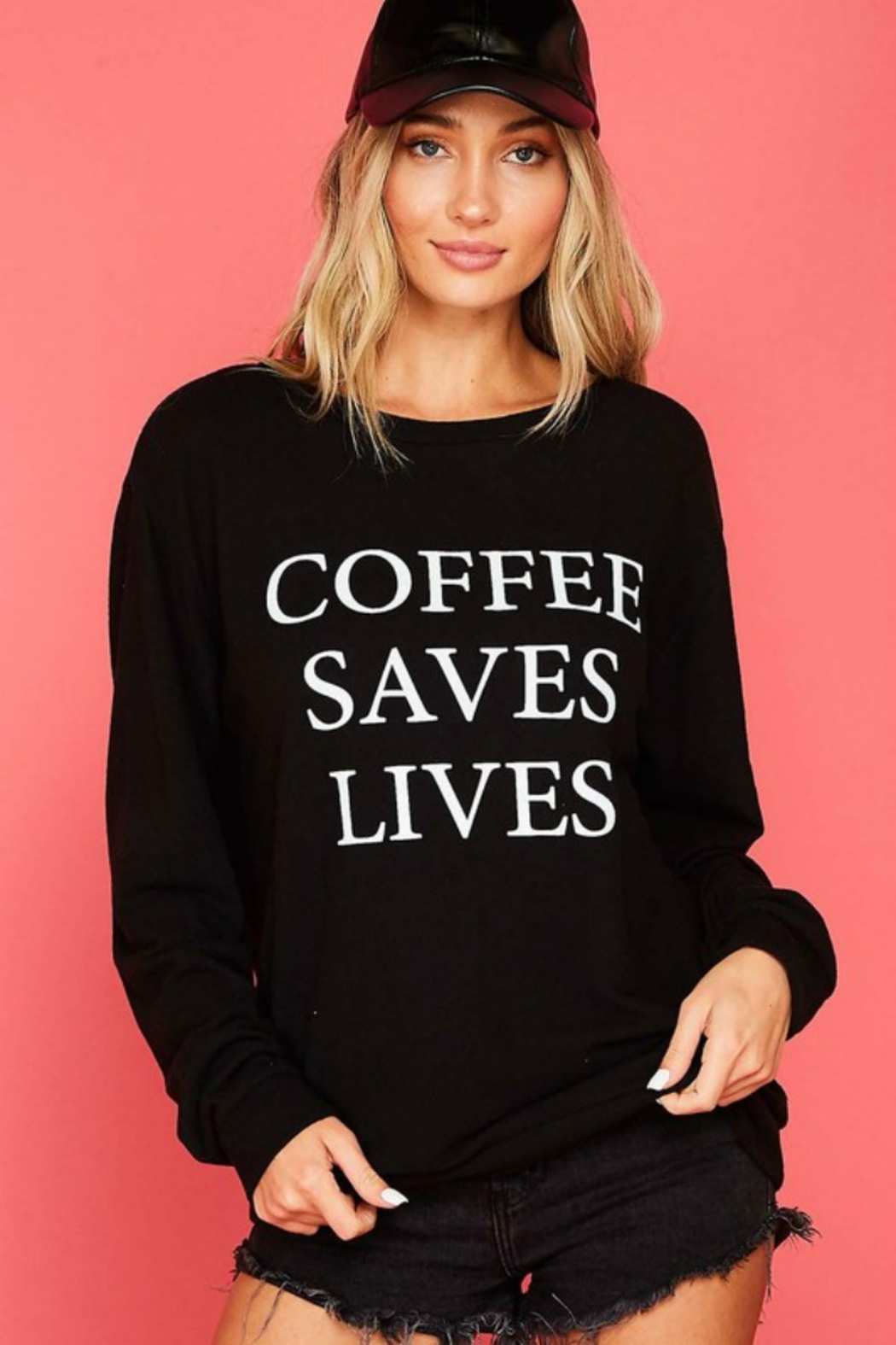 Fantastic Fawn COFFEE SAVES LIVES - Main Image