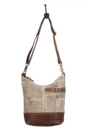 MarkWEST-Myra Bag Coffee Shoulder Bag - Product Mini Image