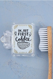 Natural Life Coffee Toothbrush Holder - Product Mini Image