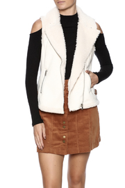 Coffeeshop Faux Suede Vest - Product Mini Image
