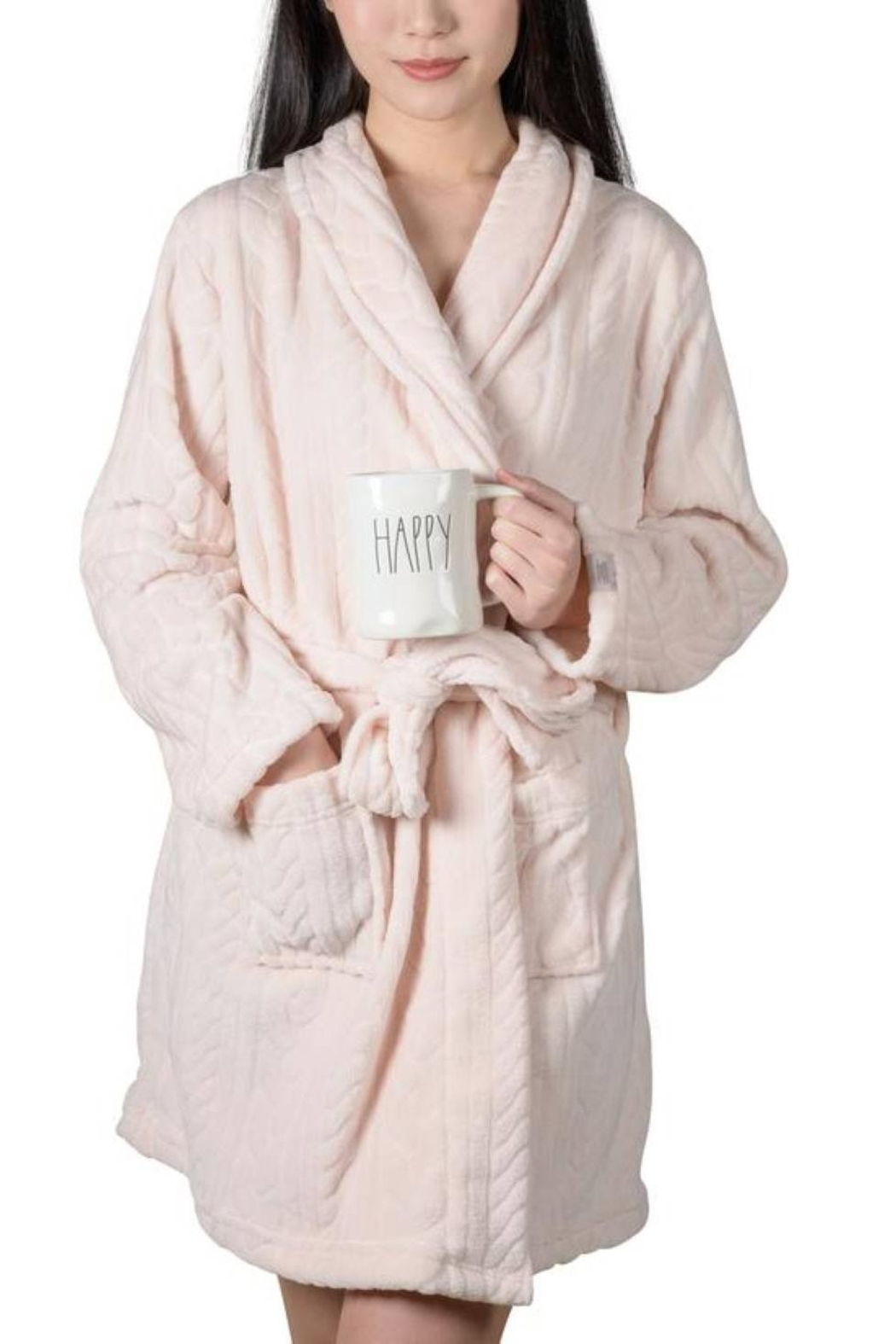 Coffeeshop Soft Short Robe - Main Image