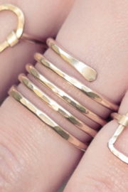 Nashelle Coil Ring - Front cropped