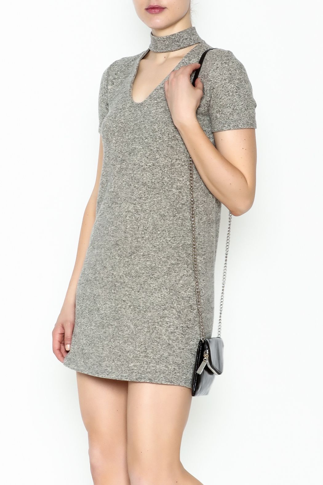 Coin 1804 Choker Tunic - Front Cropped Image