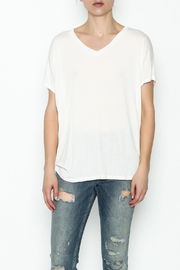 Coin 1804 Mesh V Back Tee - Front full body
