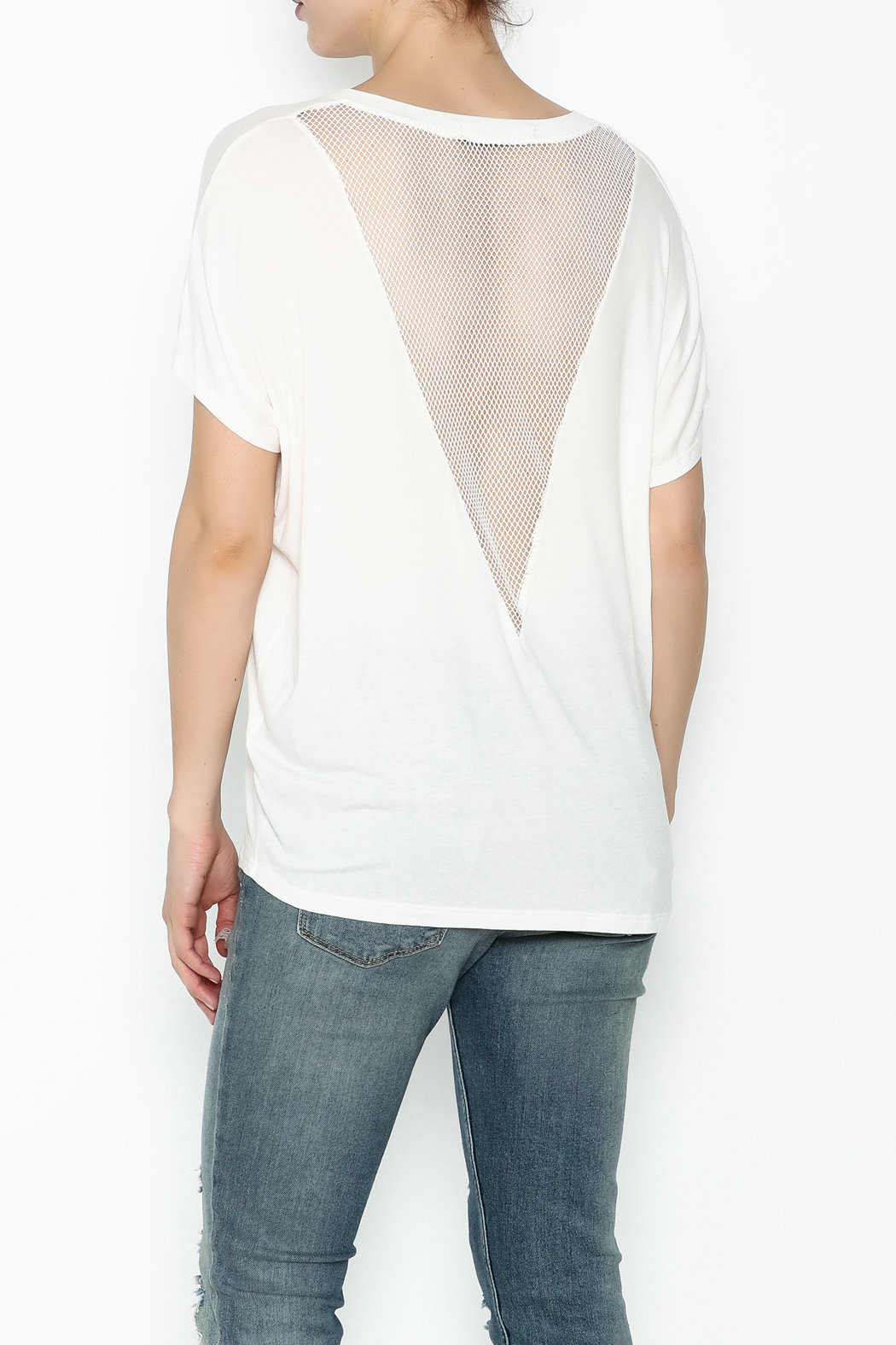 Coin 1804 Mesh V Back Tee - Main Image