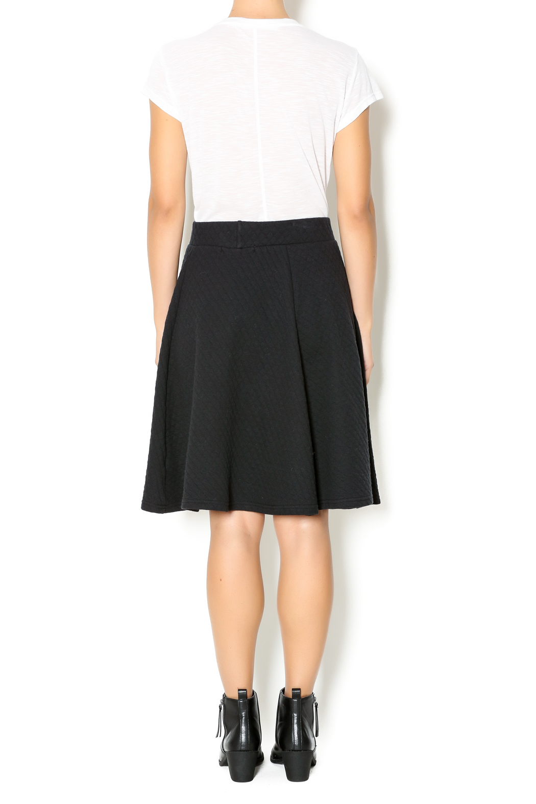 Coin 1804 Quilted Skirt - Side Cropped Image