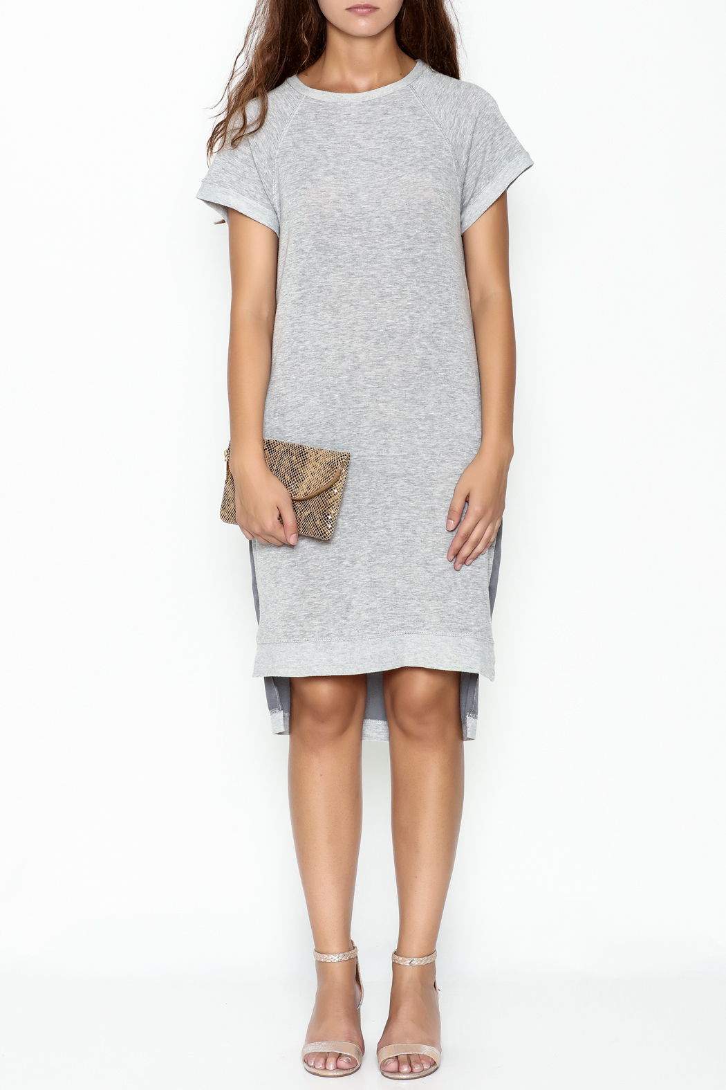 Coin 1804 T Shirt Dress - Front Full Image
