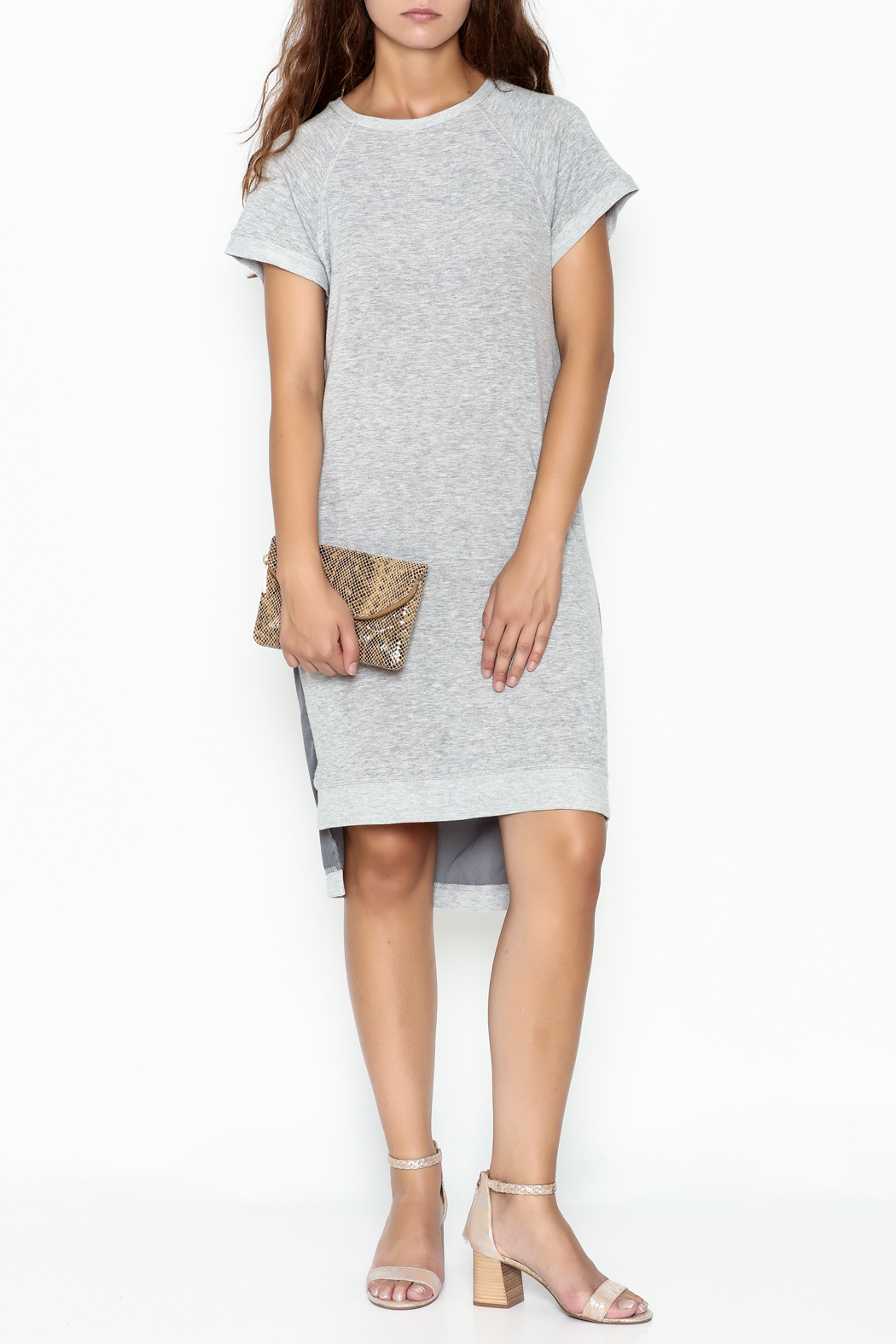 Coin 1804 T Shirt Dress - Side Cropped Image