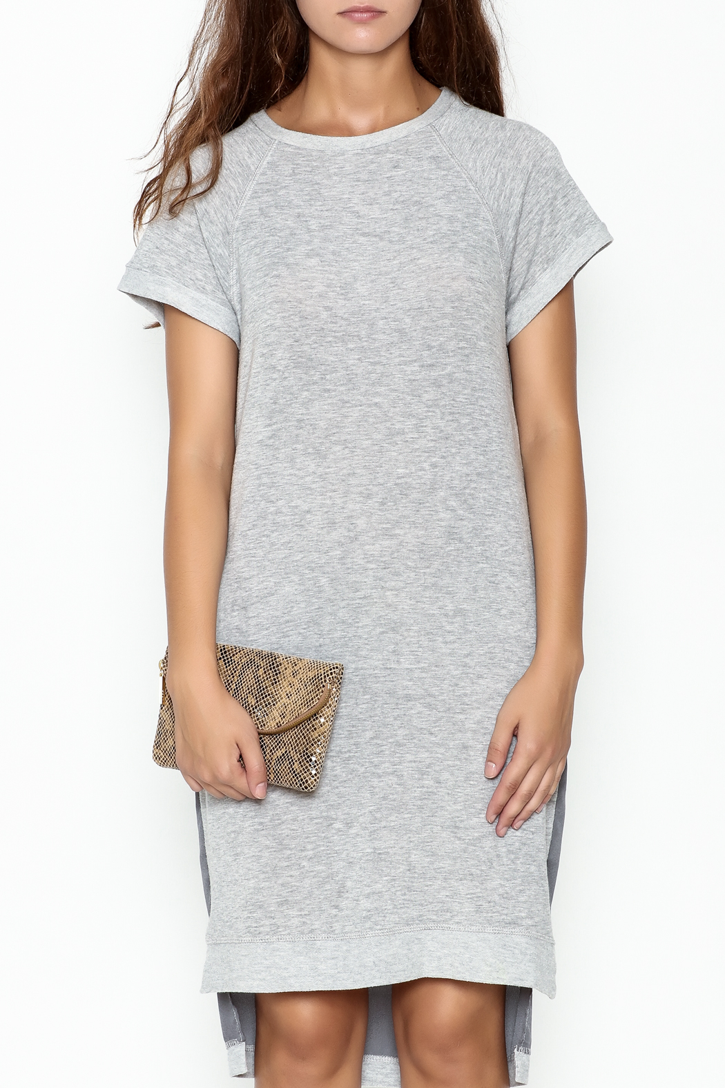 coin t shirt dress from utah by a la mode