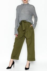 COIN Asymmetric Waffle Top - Side cropped
