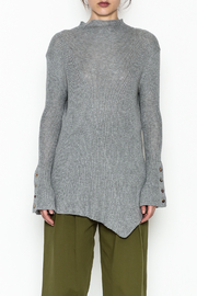 COIN Asymmetric Waffle Top - Front full body
