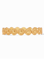 Julie Vos COIN BANGLE GOLD ZIRCON - MEDIUM - Product Mini Image