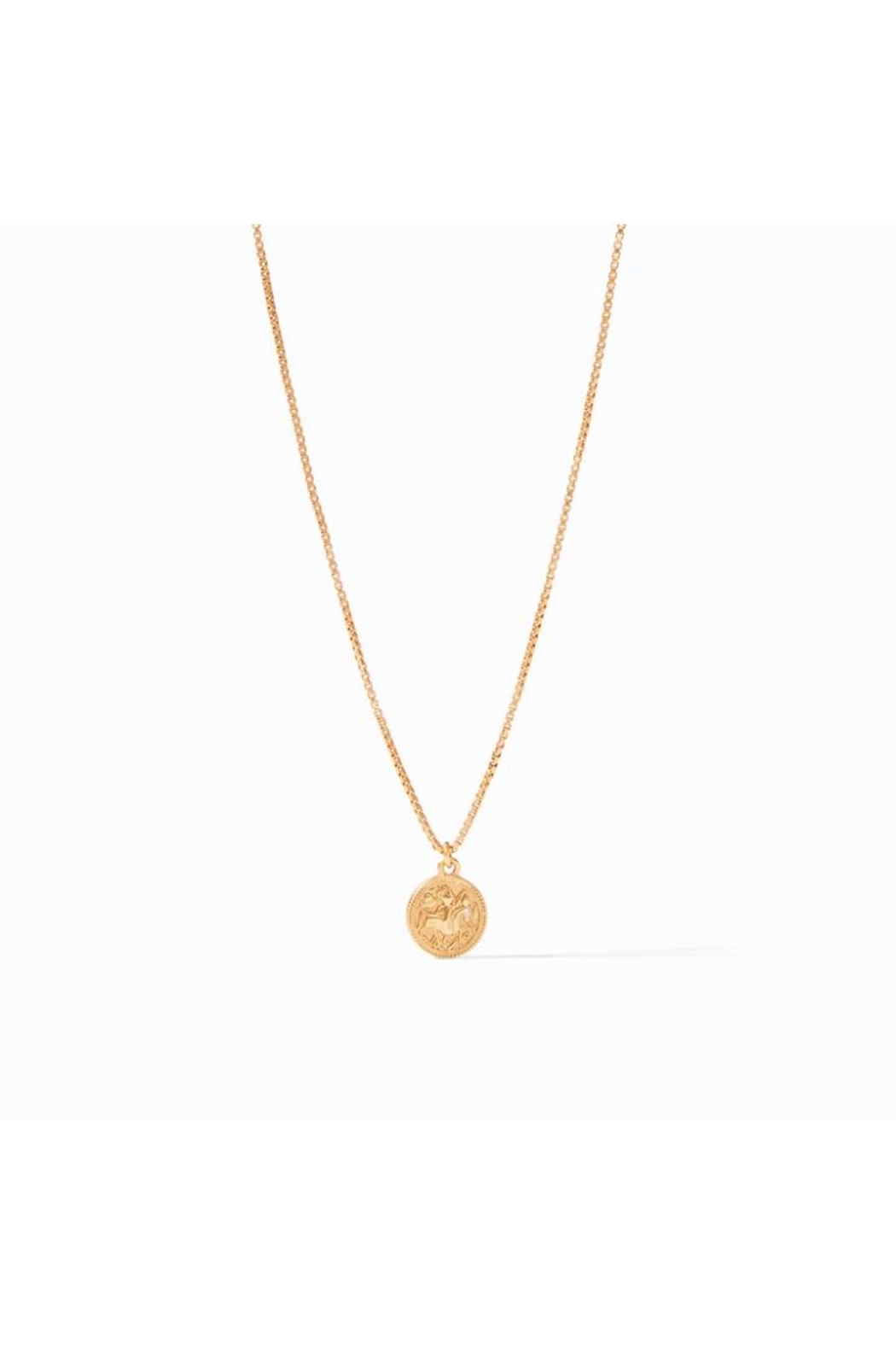 Julie Vos COIN CHARM NECKLACE - Main Image