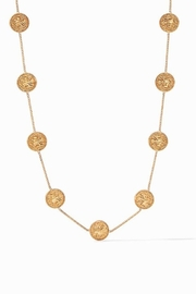 Julie Vos Coin Demi Station Necklace Gold Cz - Product Mini Image