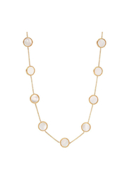 Julie Vos COIN DEMI STATION NECKLACE-MOTHER OF PEARL - Product Mini Image
