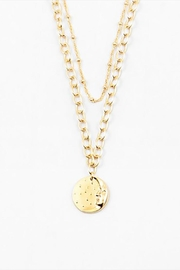 Lets Accessorize Coin Layered Necklace - Front cropped