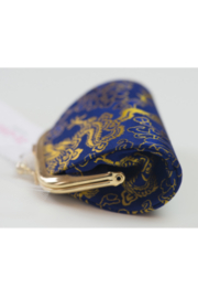tu-anh Coin Purse Blue Dragon - Front full body