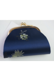 tu-anh Coin Purse Blue Floral - Product Mini Image