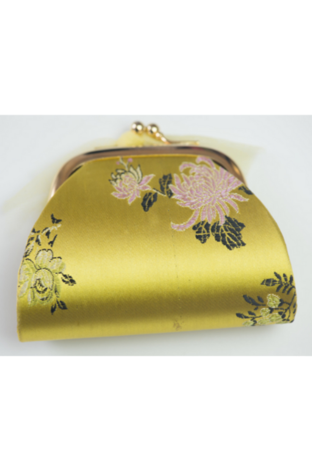 tu-anh Coin Purse Yellow Floral - Main Image