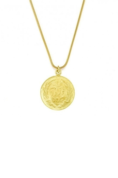 Maison Irem Coin Snake Necklace - Product List Image