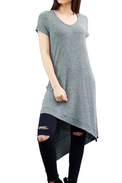 Coin 1804 Asymetrical Heather Dress - Product List Image