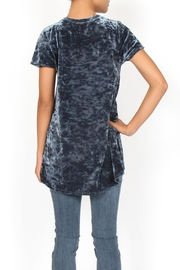 Coin 1804 Crushed Velvet Tee - Side cropped