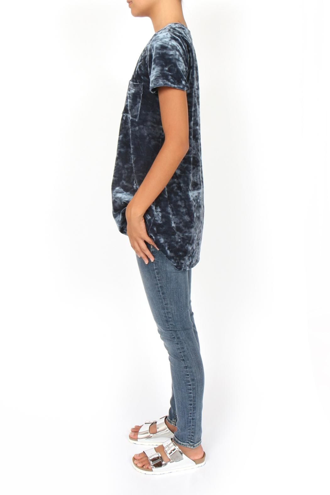 Coin 1804 Crushed Velvet Tee - Front Full Image