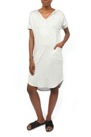 Coin 1804 Dolman Hoodie Dress - Product Mini Image