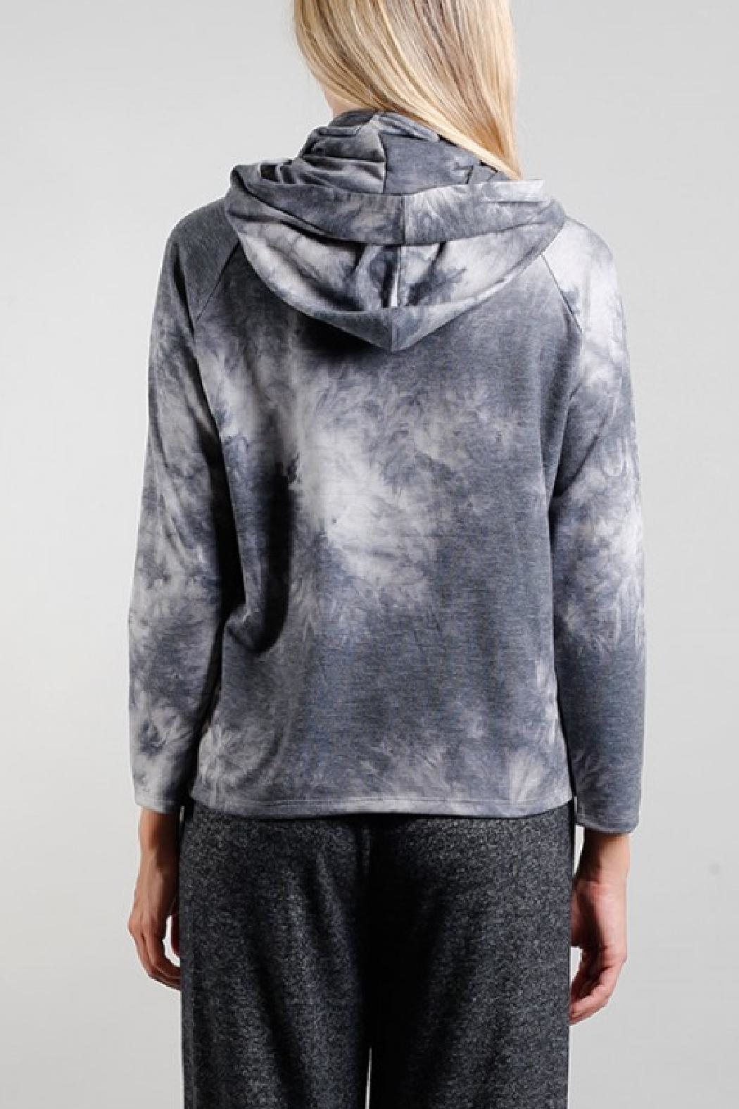 Coin 1804 Gaiter Hoodie - Side Cropped Image