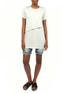 Coin 1804 Layered French Terry Tee - Product List Image