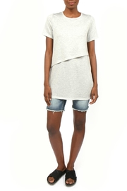Coin 1804 Layered French Terry Tee - Product Mini Image