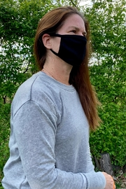 Coin 1804 Solid Black Mask - Product Mini Image