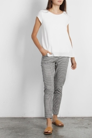 Mod Ref Colby Gingham Pants - Front cropped