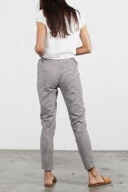 Mod Ref Colby Gingham Pants - Front full body