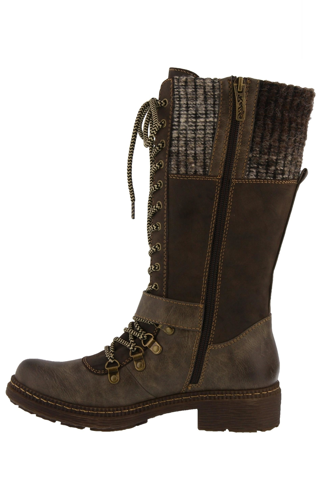 Spring Footwear Cold Combat Bootie - Front Full Image