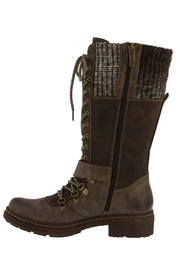Spring Footwear Cold Combat Bootie - Front full body