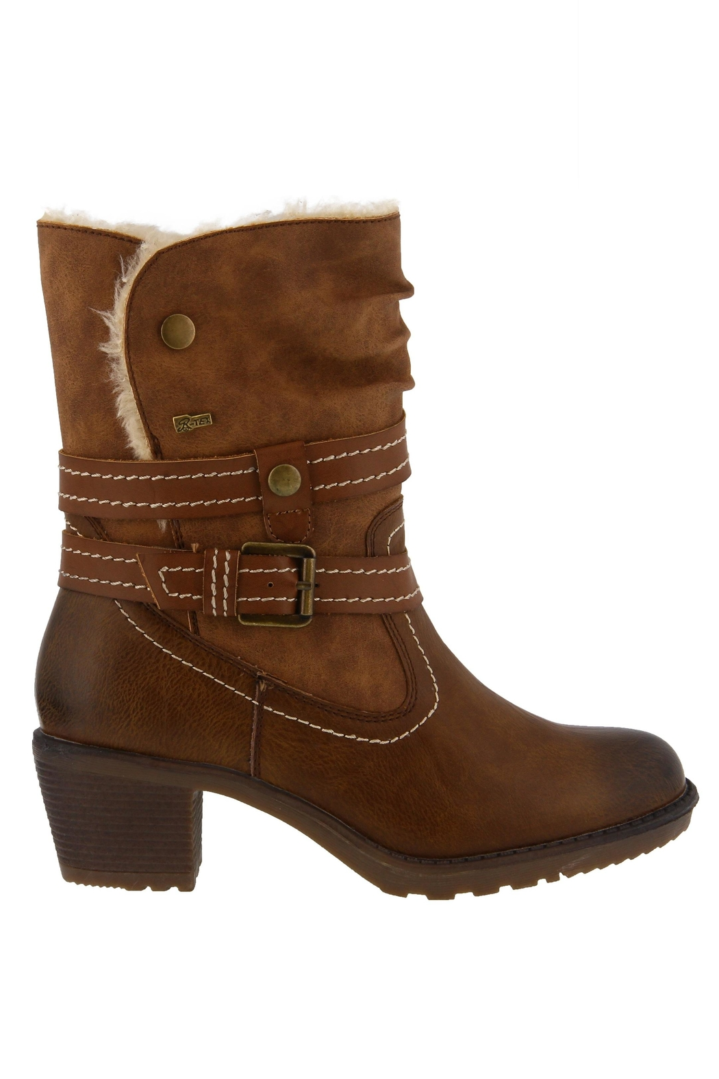 Spring Footwear Cold Cowgirl Bootie - Side Cropped Image