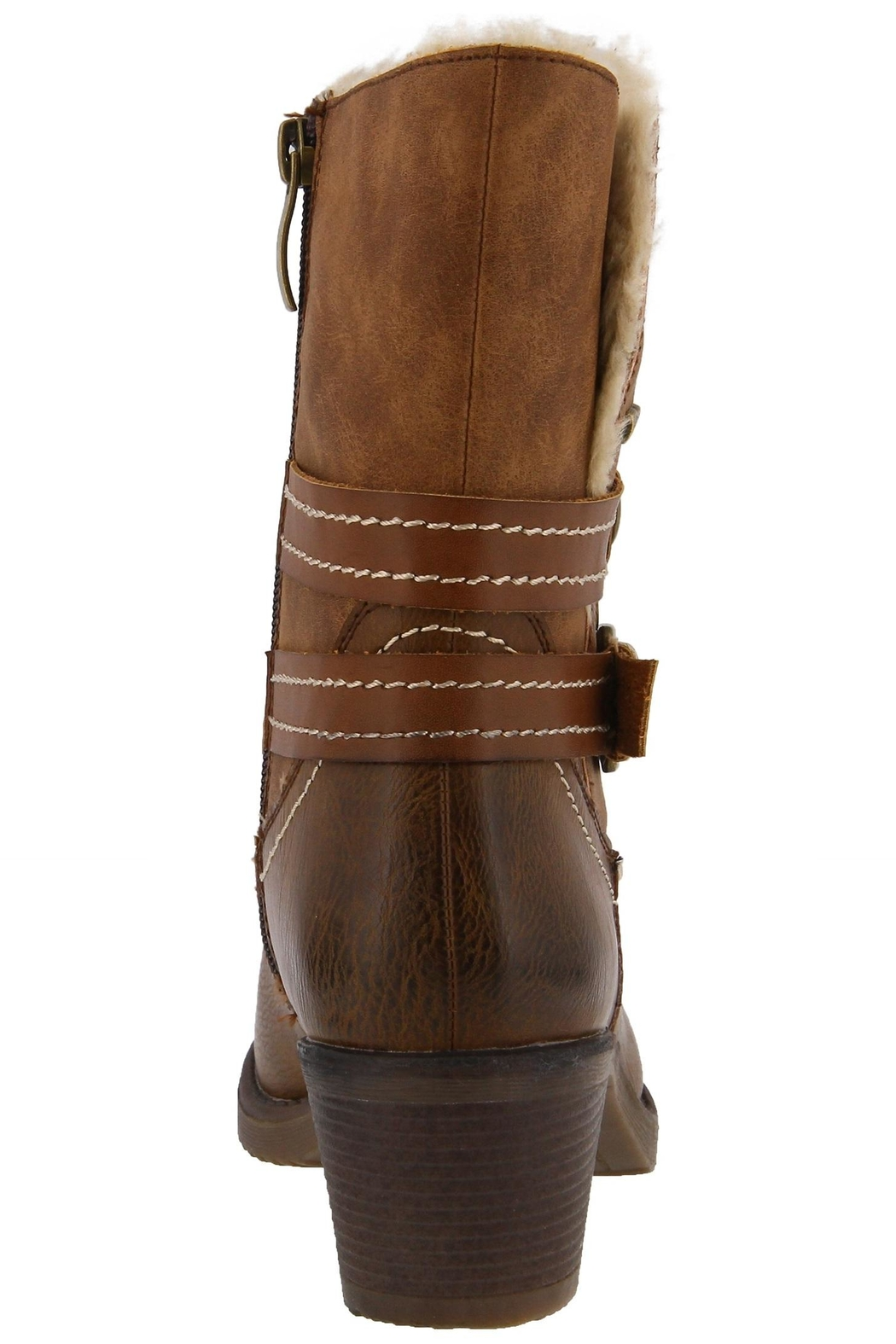 Spring Footwear Cold Cowgirl Bootie - Front Full Image