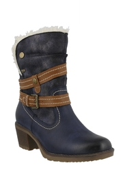 Spring Footwear Cold Cowgirl Bootie - Front cropped